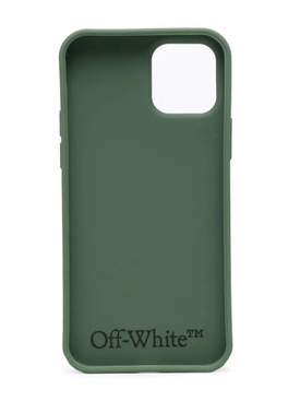 Negative Mark Iphone 12 Pro Case GREEN