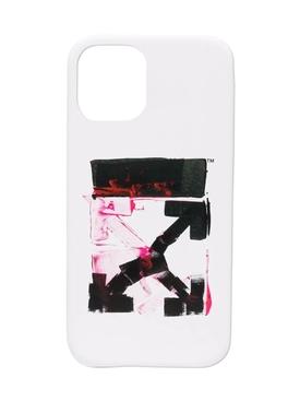 Acrylic Arrow Iphone 12 Pro Case WHITE