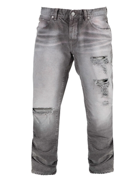 Slim cotton denim jeans GREY