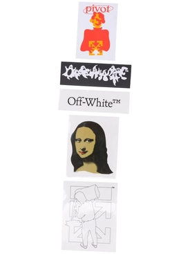 Mona Lisa sticker set
