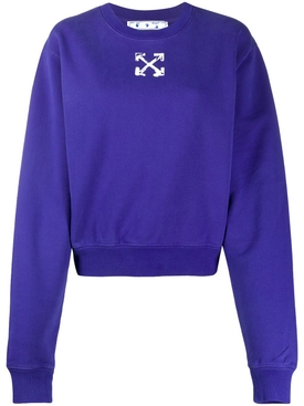 Blue Arrow Logo Sweatshirt