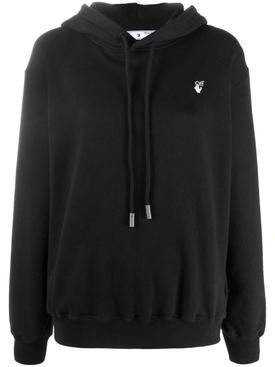 Iconic floral arrows hoodie jumper