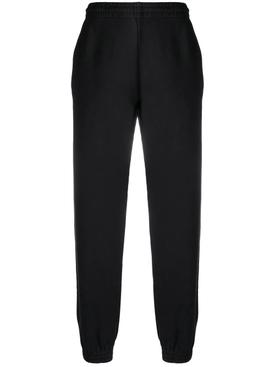 Slim-fit sweatpant, black