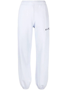 OW Logo Slim-fit Sweatpant, Lilac and Black
