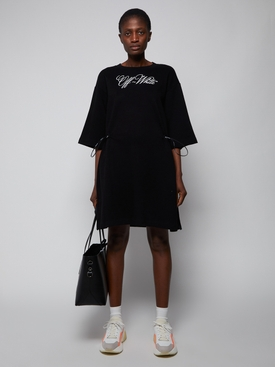 LOGO COULISSE T-SHIRT DRESS