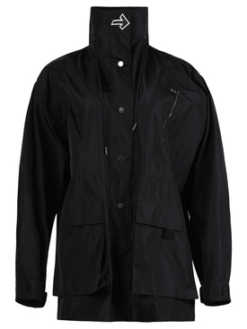 NYLON ARROW TRACKCOAT