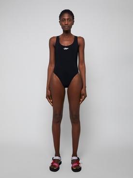 Tape Swimsuit BLACK/WHITE