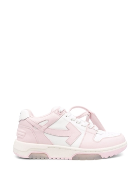 OUT OF OFFICE LOW-TOP SNEAKER PINK AND WHITE