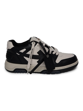 Out Of Office low-top sneaker BEIGE AND BLACK