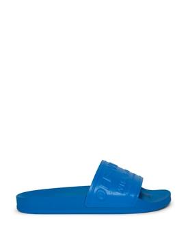 HF Pool Slide Sandal Blue