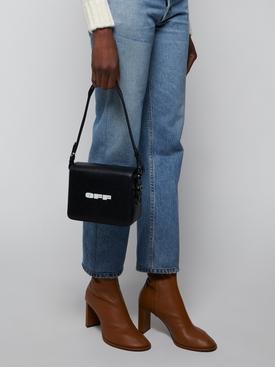 """OFF"" print cross-body bag"