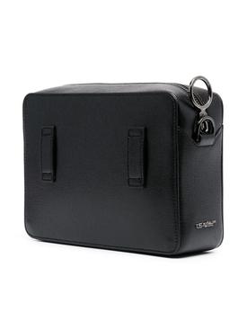 Classic Diagonal Camera Bag BLACK/WHITE