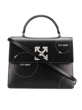 Black Cut-Here Jitney 2.8 Handbag