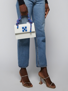 WHITE AND BLUE JITNEY 1.4 BAG WHITE