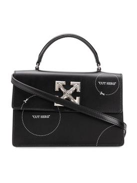 Black Cut-Here Jitney 1.4 Handbag