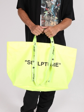 Arrow Commercial Tote Bag YELLOW & BLACK