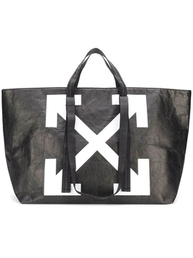 Off-white - Black Textured Commercial Tote - Women