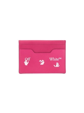 Off-white - Fuchsia Elite Card Holder - Women