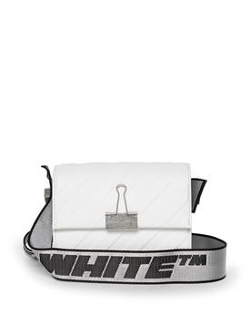 BINDER SHOULDER BAG WHITE White