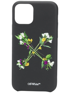 Multicolored flower arrows iPhone 11 Pro case