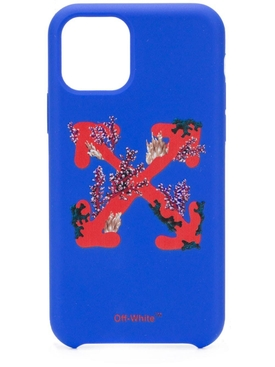 Off-white - Blue Coral Print Iphone 11 Case - Women