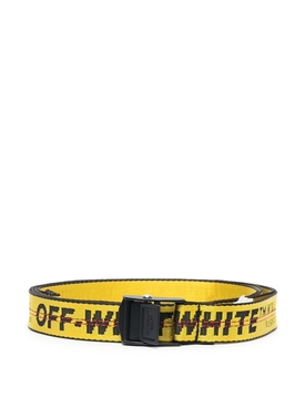 ICONIC INDUSTRIAL BELT YELLOW AND BLACK