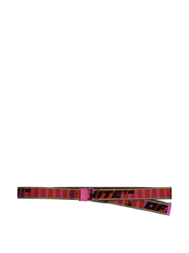 NEW INDUSTRIAL BELT 35 RED AND FUCHSIA