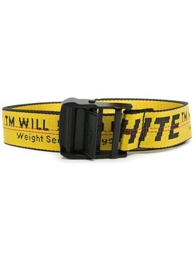 CLASSIC INDUSTRIAL BELT, YELLOW AND BLACK
