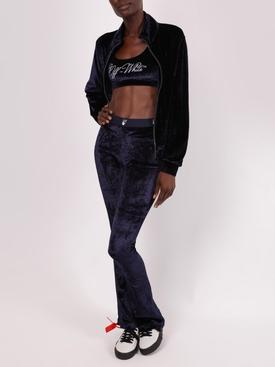 Velvet athleisure leggings