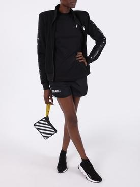 Black Athleisure shorts