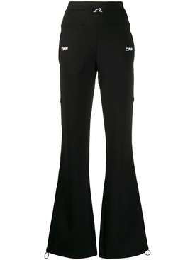 Logo Active Track Pant Black