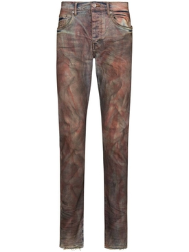 Crimson Indigo Dirty Resin Denim