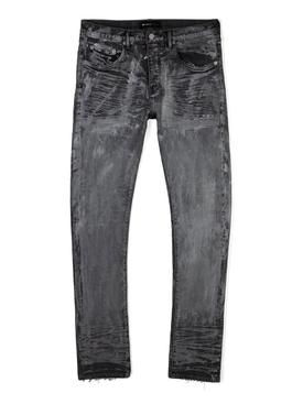 Pressed Wax Jeans Vintage Grey