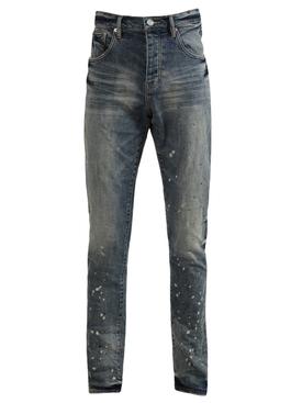 Vintage Spotted Indigo Jean
