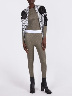 FUSEAU PRINTED REFLECTIVE LEGGINGS