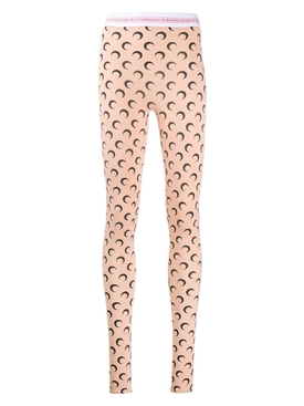 Print jersey leggings NEUTRAL