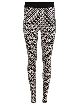 Iconic Moon Logo-Print Full Leggings