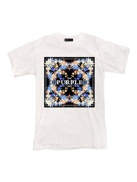 Branded Logo Kaleidoscope T-Shirt White