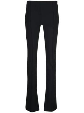 Bonded Neoprene Flare Pants
