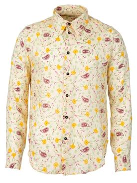 Paisley Shirt Vanilla