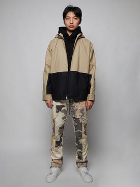 Centenary Bauhaus patches hoodie jumper BLACK