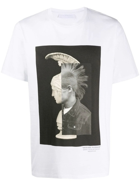 Mohawk god N°55 t-shirt WHITE