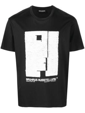 BAUHAUS AUSSTELLUNG T-SHIRT, BLACK AND WHITE