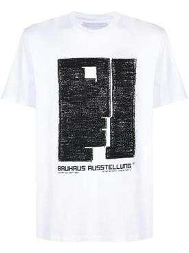 BAUHAUS AUSSTELLUNG T-SHIRT, WHITE