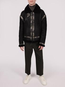 Travel Shearling Jacket, Black