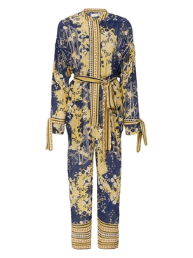 Chufy - Navy And Yellow Lima Jumpsuit - Women