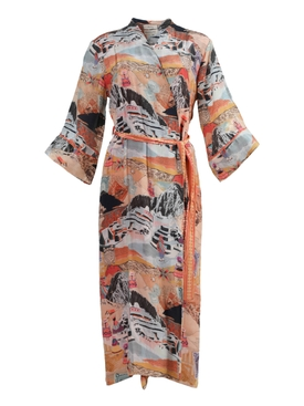 Chufy - Multicolored Moray Long  Robe - Women