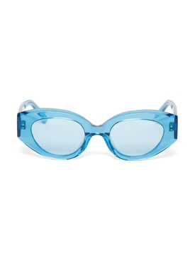 Petra Oval Sunglasses BLUE