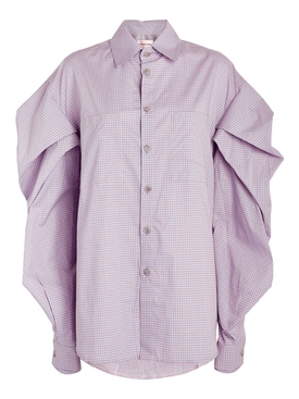 Pleats Sleeve Shirt