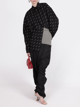 Houndstooth Double Layer Trousers
